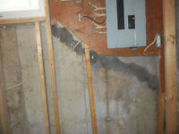 Cracked or leaky concreteFoundation repairs done from the inside