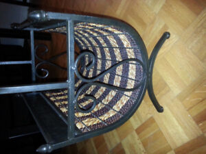 Clock and magazine rack for sale