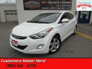 2011 Hyundai Elantra GLS  ROOF, HEATED REAR SEATS, FOG LIGHTS, M