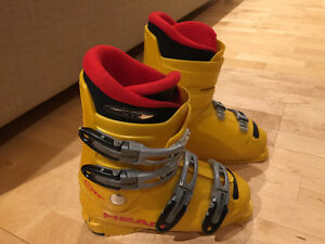 HEAD XTR JUNIOR SKI BOOTS SIZE 23.5 GOOD CONDITION
