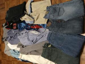 Boys Youth Clothing Lot Size 10=14