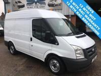 2011 FORD TRANSIT 2.2 280 SWB MEDIUM ROOF 1 OWNER AIR CON FULL SERVICE HISTORY