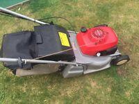 Honda petrol self propelled lawnmowers