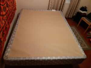 Bed frame queen size for sale excellent condition
