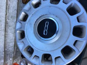 Fiat 500 hubcaps
