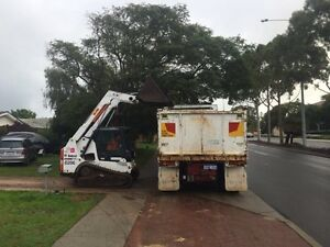 TRUCK BOBCAT EXCAVATOR MAN Doubleview Stirling Area Preview