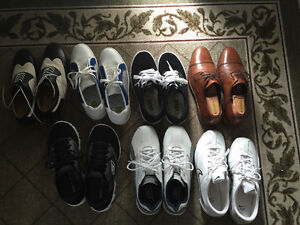Brand name never worn or worn 2-3 time men's shoes