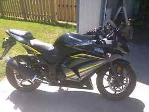 Kawasaki ninja 250r 2012 reduced