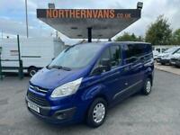 2018 Ford Transit Custom 2.0 TDCi 130ps Low Roof D/Cab Van Crew Van Diesel Manua
