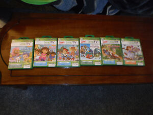 Only Two opened. All Others Sealed!  Excellent Leap Tv Games