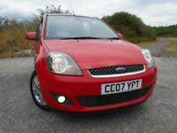 2007 07 FORD FIESTA 1.4 ZETEC CLIMATE 16V 5D 80 BHP **LOW MILEAGE**LOW INSURANCE