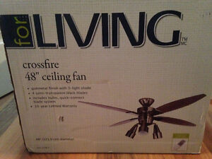 48 Inch Ceiling Fan with Remote
