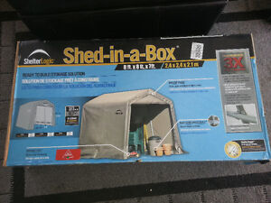 Shelter Logic Shed in a box 8 x 8