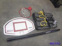 Basketball stand and net