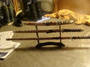 ceremonial sword set