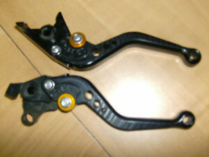 PAZZO SHORTY ADJUSTABLE RACING LEVERS FOR SUZUKI HAYABUSA Cambridge Kitchener Area image 2