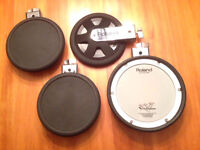 Roland PDX-8 and PD-8 Dual Trigger Pads