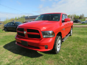 2013  dodge  ram sport 1500  147 km  new tire  mvi
