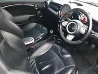 2009 09 reg Mini 1.6 Cooper S JCW Convertible + Black + Huge spec + coopers