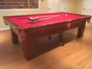 Table de billard 9 pieds