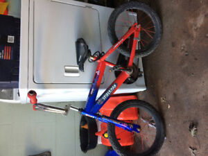 "16""; small boys bicycle. $20 firm call or text jason at 629-9117"