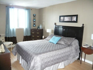 Bright 2 bedroom condo with in-suite laundry
