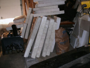 "Rigid Insulation 5"" thick many panels some 4x8 etc"