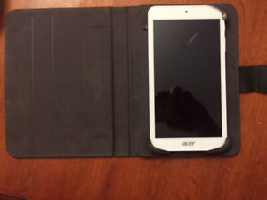 acer tablet and case used a couple of times can deliver in town
