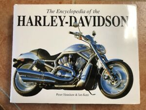 The Encyclopedia Of The Harley Davidson Hardcover Book