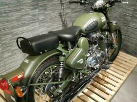 Royal Enfield Classic Military Modern Retro Classic Motorcycle