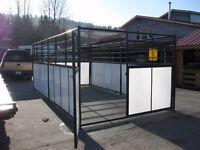 Heavy Duty Livestock Stall - 6 panels