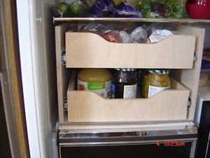 MAKE YOUR KITCHEN MORE USER FRENDLY--CUSTOM MADE ROLLING SHELVES Peterborough Peterborough Area image 9
