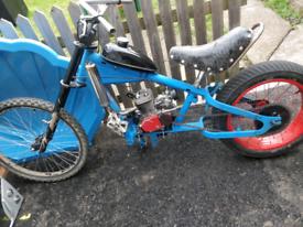 Stingray bike with engine