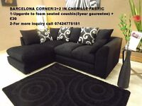 **EXPRESS DELIVERY** BRAND NEW CORNER & 3+2 SEATER AVAILABLE IN DIFFERENT COLOURS**