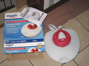 Brand New Equate Warm Vapourizer Humidifier in original package