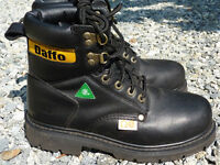 "Mens 6"" Daffo Work Boots Style DW-991B"