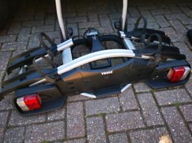 Thule bike rack cycle carrier towbar