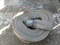great deal on used b.c.f.s fire hose/pump hose  100ft each