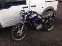 HONDA CG 125 // STOLEN RECOVERD DIRECT OUT OF POLICE AUCTION. £250