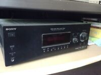 Sony digital audio video control centre with speakers