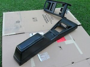 1971-1973  Mustang center console