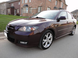 "2007 Mazda Mazda3 Sport 2.0 GS""FULL LOADED / MINT CONDITION"""