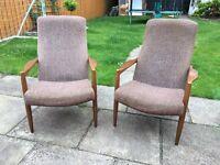 1960s Retro Armchairs