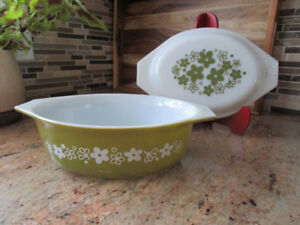 Vintage Pyrex Covered Dish