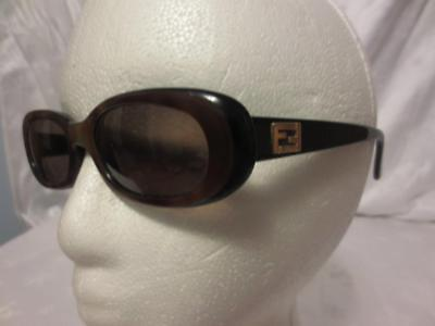 (Authentic FENDI Womens Vintage TORTOISE SUNGLASSES Glasses *RX LENSES*)