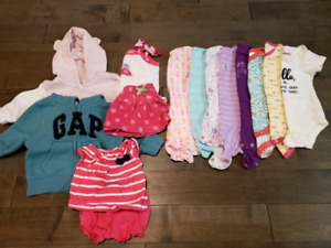 Size 0-3 month clothes