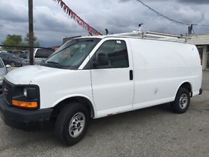 2007 CHEVY EXPRESS 2500 250k,Cargo Van,Safetied & e-tested !