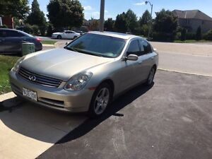 BEAUTIFUL WELL MAINTAINED G35 for sale !!!