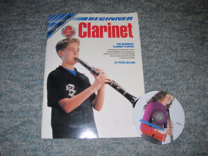 Progressive Beginner Clarinet and CD