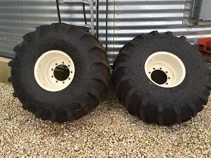 21.5L- 16.1 SL Swather Tires/ Rims
